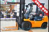 รถโฟล์คลิฟท์พร้อมขาย TOYOTA รุ่น 7FD25-15749