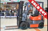 รถโฟล์คลิฟท์พร้อมขาย TOYOTA รุ่น 6FG15-31902