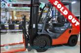 ขายรถโฟล์คลิฟท์มือสอง TOYOTA รุ่น 8FD30-12052