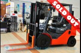 รถโฟล์คลิฟท์พร้อมขาย TOYOTA รุ่น 8FG20-01778
