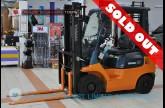 รถโฟล์คลิฟท์พร้อมขาย TOYOTA รุ่น 7FG15-10480