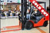 รถโฟล์คลิฟท์พร้อมขาย TOYOTA รุ่น 8FD25-32961