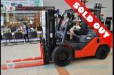 รถโฟล์คลิฟท์พร้อมขาย TOYOTA รุ่น 8FD35-10483