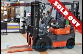 ขายรถโฟล์คลิฟท์มือสอง TOYOTA รุ่น 6FG14-12782
